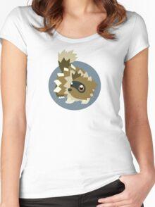 Zigzagoon - 3rd Gen Women's Fitted Scoop T-Shirt