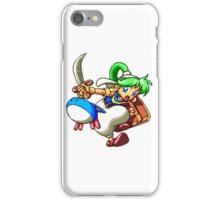 Asha (Monster World IV) - SEGA Genesis Sprite iPhone Case/Skin