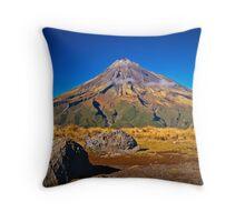 Mt Egmont, NZ Throw Pillow
