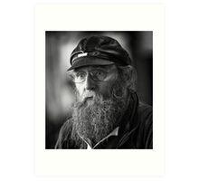 Market portrait Art Print