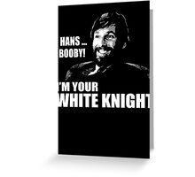 White Knight Greeting Card