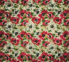 Vintage flashy flowers by mjbphotodesign