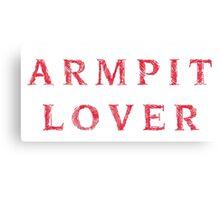 Armpit Lover Canvas Print