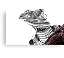 Robot Reptile Canvas Print