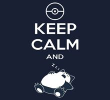 T-Shirt Keep Calm Snorlax by OwnedByGemini