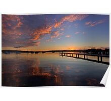 Bolton Point at Dusk Poster