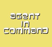 Agent in Command Kids Clothes