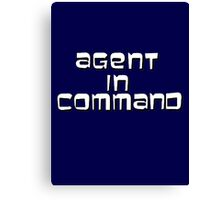 Agent in Command Canvas Print