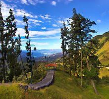 View from Portete Ecuador by Al Bourassa
