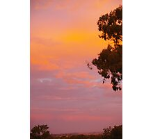 Colorful Sunset Photographic Print