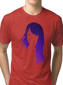 Purple Vector Tri-blend T-Shirt