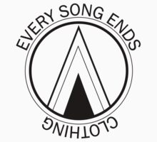 Every Song Ends Clothing Logo (Black) One Piece - Short Sleeve