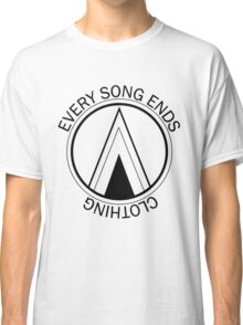 Every Song Ends Clothing Logo (Black) Classic T-Shirt