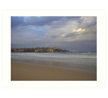 Winter Bondi Beach Art Print
