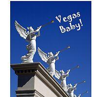 Vegas Baby!  IPhone Case by DARRIN ALDRIDGE