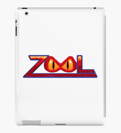 Zool - SNES Title Screen iPad Case/Skin