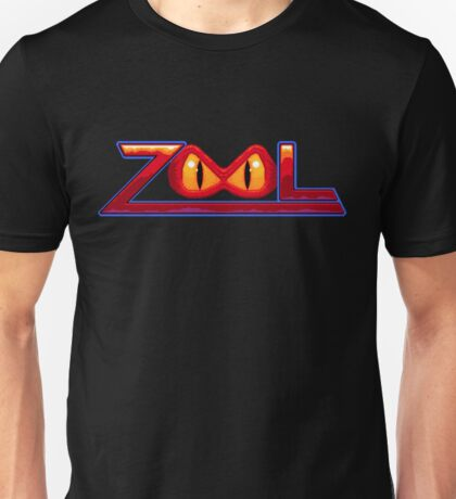 Zool - SNES Title Screen Unisex T-Shirt