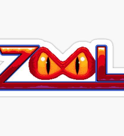 Zool - SNES Title Screen Sticker