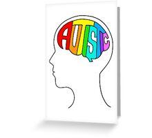 Autistic Mind Greeting Card