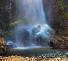El Chorros Waterfalls of Giron VII by Al Bourassa