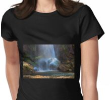 El Chorros Waterfalls of Giron VII Womens Fitted T-Shirt