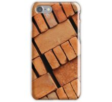 Angled Adobe Bricks iPhone Case/Skin