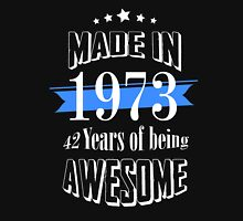 Made in 1973 42 years of being awesome T-Shirt