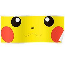Pikachu Face Poster