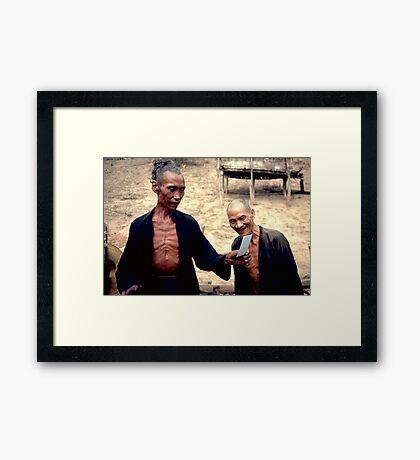 First photo Framed Print