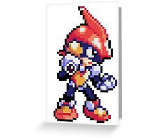 Pulseman (sprite) Greeting Card