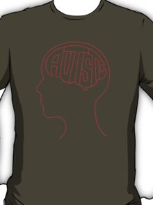 Autistic Mind  – Red T-Shirt