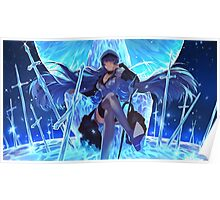 Akame ga Kill, Red Eyes Sword - Esdeath, Ice Master! Poster