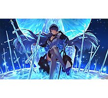 Akame ga Kill, Red Eyes Sword - Esdeath, Ice Master! Photographic Print