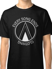 Every Song Ends Clothing Logo (White) Classic T-Shirt