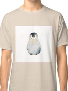 Cute animal No.2 Shy Penguin Classic T-Shirt