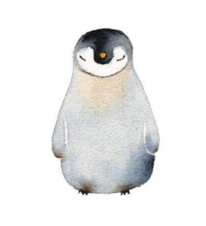 Cute animal No.2 Shy Penguin Sticker
