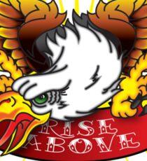 Rise Above Sticker