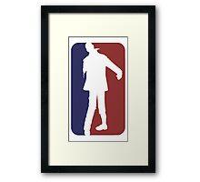 Major League Zombie Framed Print