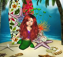 Little Mermaid Day At The Beach by apgme