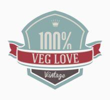Veg Love Collection No.1 Veg Love T-Shirt