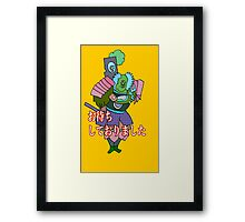 I had been waiting for you,sir Framed Print