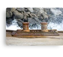 Norfolk Wharf Metal Print