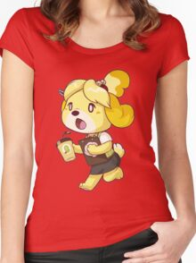 Early Bird (or Dog) Women's Fitted Scoop T-Shirt
