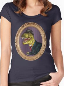 Terry the Tyrannosaurus Rex Women's Fitted Scoop T-Shirt