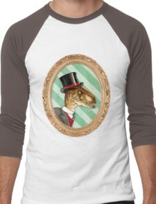 Randy the Raptor Men's Baseball ¾ T-Shirt