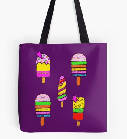 five ice lollies (popsicles) Tote Bag