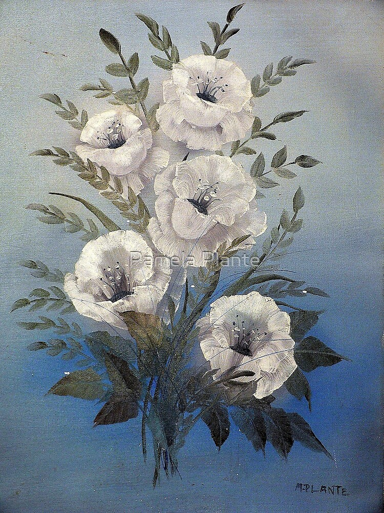 Dad's Roses by Pamela Plante