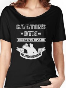 Gaston's Gym White Women's Relaxed Fit T-Shirt