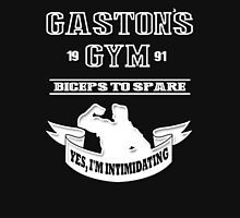 Gaston's Gym White T-Shirt