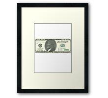 In Grodd We Trust Framed Print